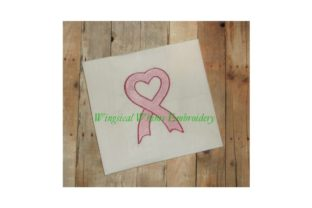 Awareness Ribbon Awareness Embroidery Design By Wingsical Whims Designs