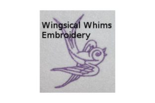 Bird Line Art Birds Embroidery Design By Wingsical Whims Designs