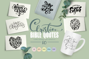 Christian Bible Quotes Graphic Objects By Happy Letters