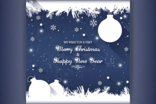 Christmas and New Year Greetings Cards Grafik Feiertage von naemislamcmt