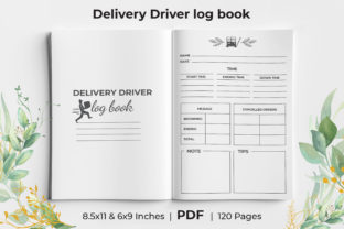 Print on Demand: Delivery Driver ( Logbook ) KDP Interior Graphic KDP Interiors By KdpKing