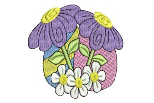 Easter Delight Eggs 3 Easter Embroidery Design By BabyNucci Embroidery Designs