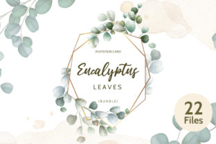 Eucalyptus Leaves Invitations Bundle  By dinomikael01