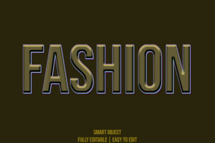 Fashion 3d Style Text Effect Graphic Layer Styles By grgroup03