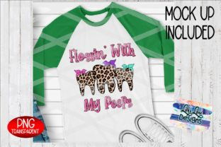 Print on Demand: Flossin with My Peeps Sublimation Graphic Illustrations By Lori Lou Designs