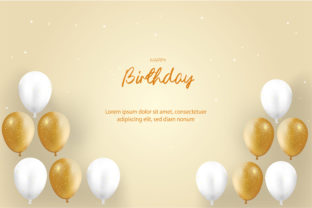Happy Birthday Card Graphic Backgrounds By hamdhan231196