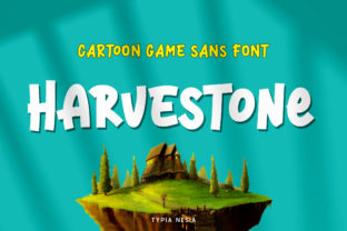 Print on Demand: Harvestone Display Font By Typia Nesia