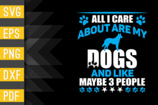 I Only Care About My Dog Craft Design Graphic Crafts By Designstore