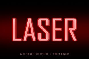 Laser 3d Light Ray Style Text Effect Graphic Layer Styles By grgroup03