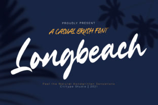 Print on Demand: Longbeach Script & Handwritten Font By Cititype