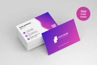 Modern Business Card Template Vector Graphic Print Templates By graphs_art