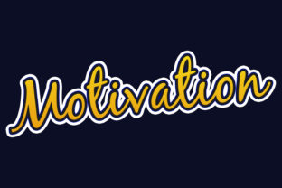Print on Demand: Motivation 3d Stroke Style Text Effect Graphic Layer Styles By grgroup03