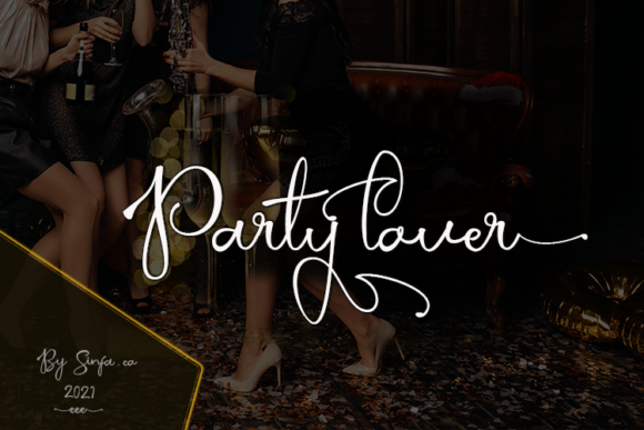 Party Lover Font