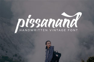 Print on Demand: Pissanand Display Font By Ahdrim Studio