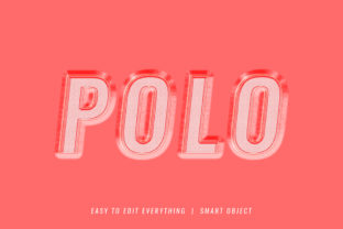 Polo 3d Embroidery Style Text Effect Graphic Layer Styles By grgroup03