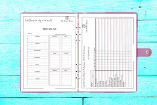 Print on Demand: Positive Health & Wellness Planner Graphic KDP Interiors By CapeAirForce 3