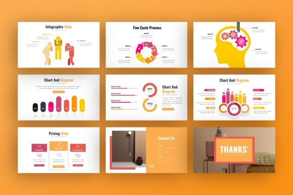 Presentation Template Graphic Preview