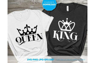 Queen and King Wedding Shirt Design Graphic Crafts By March Design Studio