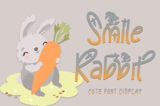 Print on Demand: Smile Rabbit Display Font By yogaletter6 1