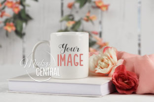 Spring Flower Coffee Cup Mug Mockup Graphic Product Mockups By Mockup Central
