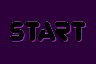 Start Purple Style 3d Text Effect Graphic Layer Styles By grgroup03