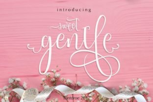 Print on Demand: Sweetgentle Script & Handwritten Font By fontdroe