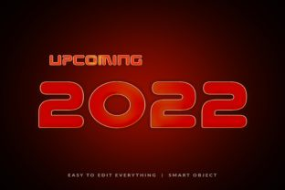 Print on Demand: Upcoming 2022 3d Text Effect Graphic Layer Styles By grgroup03