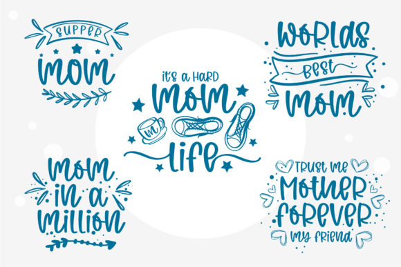 Wild Mom Font Preview