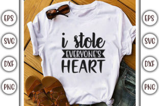 Print on Demand: Baby Quotes Design, I Stole Everyone's Graphic Print Templates By GraphicsBooth