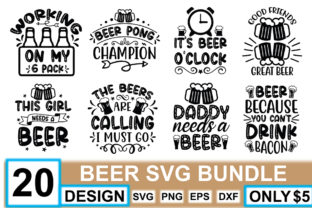 Beer SVG Bundle  By crafthome