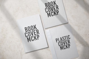 Book Cover Mockup Graphic Product Mockups By nopxcreative