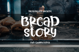 Print on Demand: Bread Story Slab Serif Font By DLetters.std