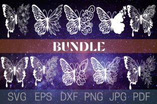 Print on Demand: Butterfly Graphic Crafts By Cnxsvg