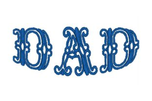 Dad Father Embroidery Design By Wingsical Whims Designs