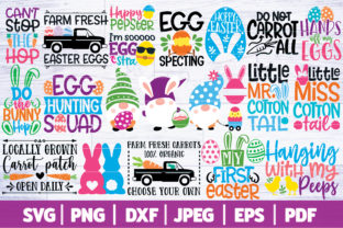 Easter SVG Bundle | Easter Cut Files SVG Graphic Crafts By SeventhHeaven Studios