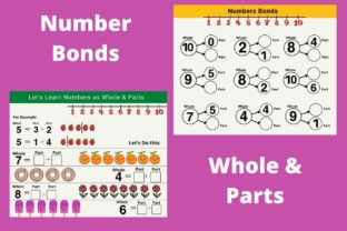 Fun Numbers Practice for Grade 1 Kids Graphic 1st grade By Greenleaf Design 2