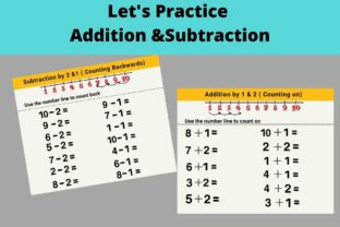 Fun Numbers Practice for Grade 1 Kids Graphic 1st grade By Greenleaf Design 3