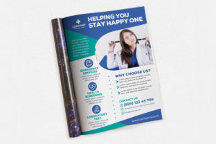 Helping You Stay Happy One Ads Magazine Graphic Print Templates By medzcreative