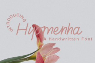 Print on Demand: Hyomenha Manuscrita Fuente Por Tychitype