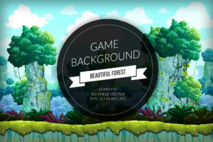 Jungle Hill Seamless Background Graphic Backgrounds By SCWorkspace