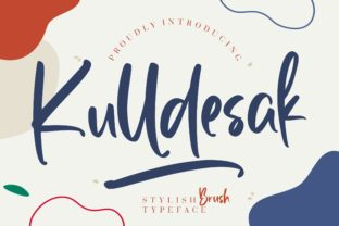 Print on Demand: Kulldesak Script & Handwritten Font By CreatypeStudio