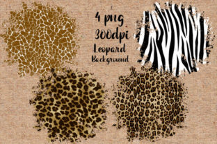 Leopard Background Png Bundle Graphic Backgrounds By DenizDesign