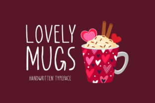 Print on Demand: Lovely Mugs Script & Handwritten Font By Seemly Fonts