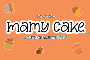 Print on Demand: Mamy Cake Serif Font By Nahda Creative