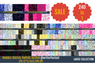 Marble Digital Papers, Marble Textures. Graphic Textures By Writerfantast