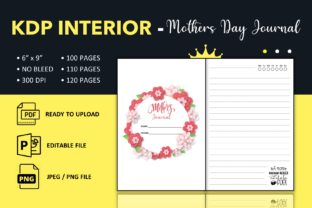 Print on Demand: Mothers Day Journal - KDP Interior Graphic KDP Interiors By KDP King