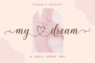 Print on Demand: My Dream Script & Handwritten Font By Suza Studio