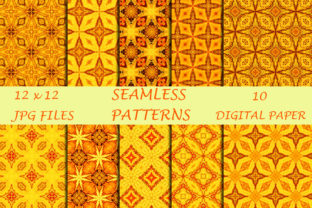 Orange Onyx Textures Digital Papers Graphic Patterns By SweetDesign