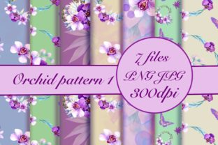Orchid Seamless Pattern Graphic Patterns By Marine Universe