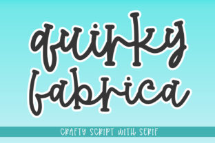 Print on Demand: Quirky Fabrica Display Font By Abodaniel